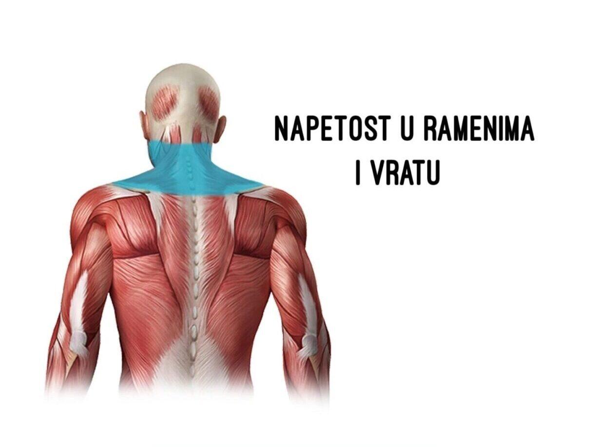 Napetost u ramenima i vratu – zašto nastaje i kako ju umanjiti?