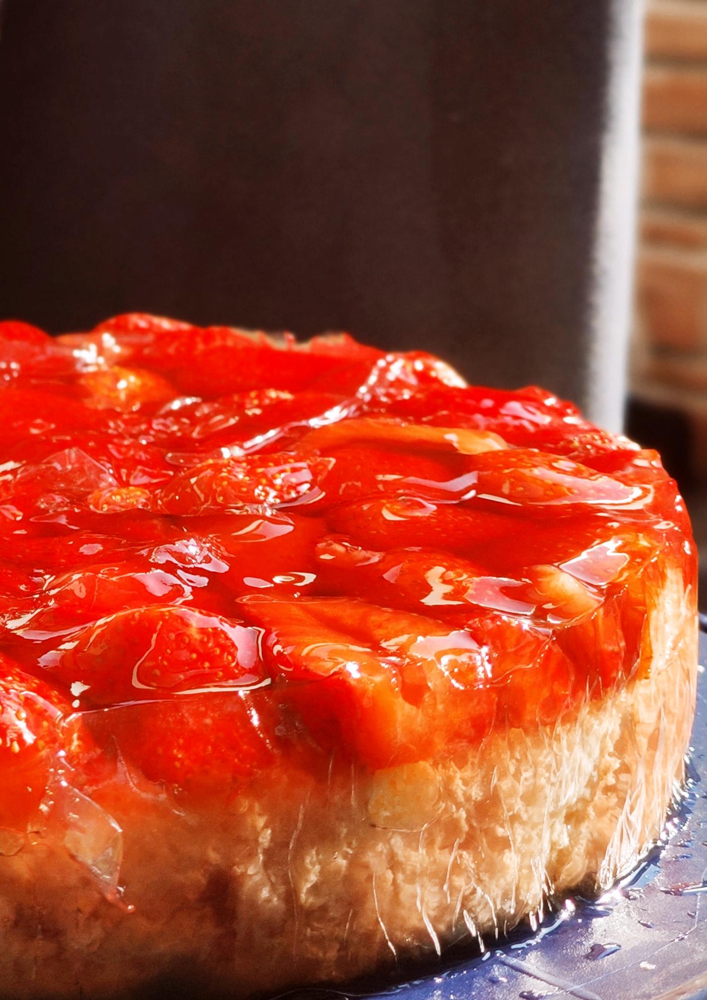 brza torta sa jagodama recept