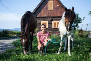 Maja Živanović projekt jednorog konji