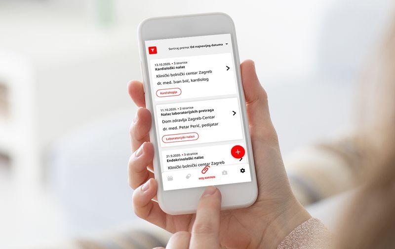aplikacija Meddox zdravstveni nalazi
